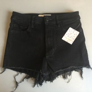 NWT Free People Black Shorts